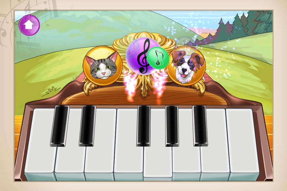 Screenshot Faszinierendes Haustier-Klavier – Orchestermusik der Tiere in HD